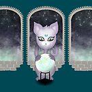 Mystic Miku | Crystal Ball & Zodiac | Teal by LolitasAdorned