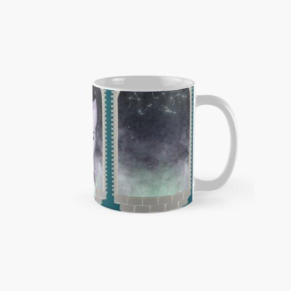 Mystic Miku   Crystal Ball & Zodiac   Teal Classic Mug