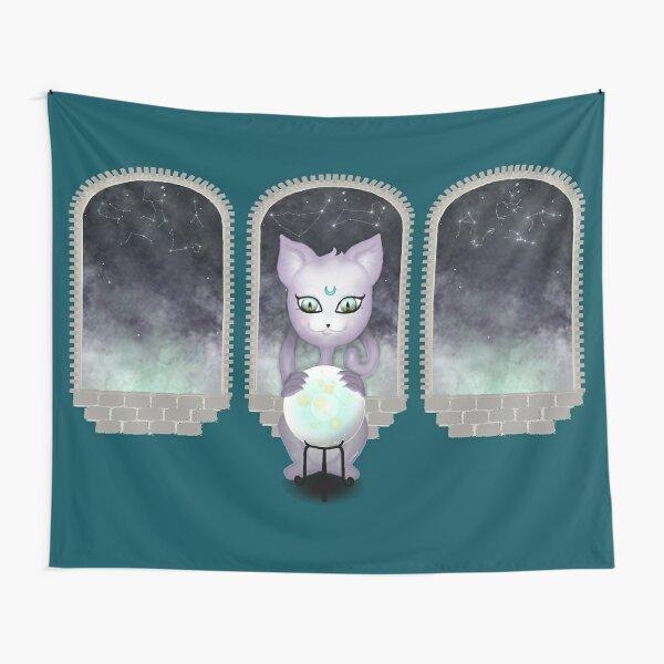 Mystic Miku | Crystal Ball & Zodiac | Teal Tapestry