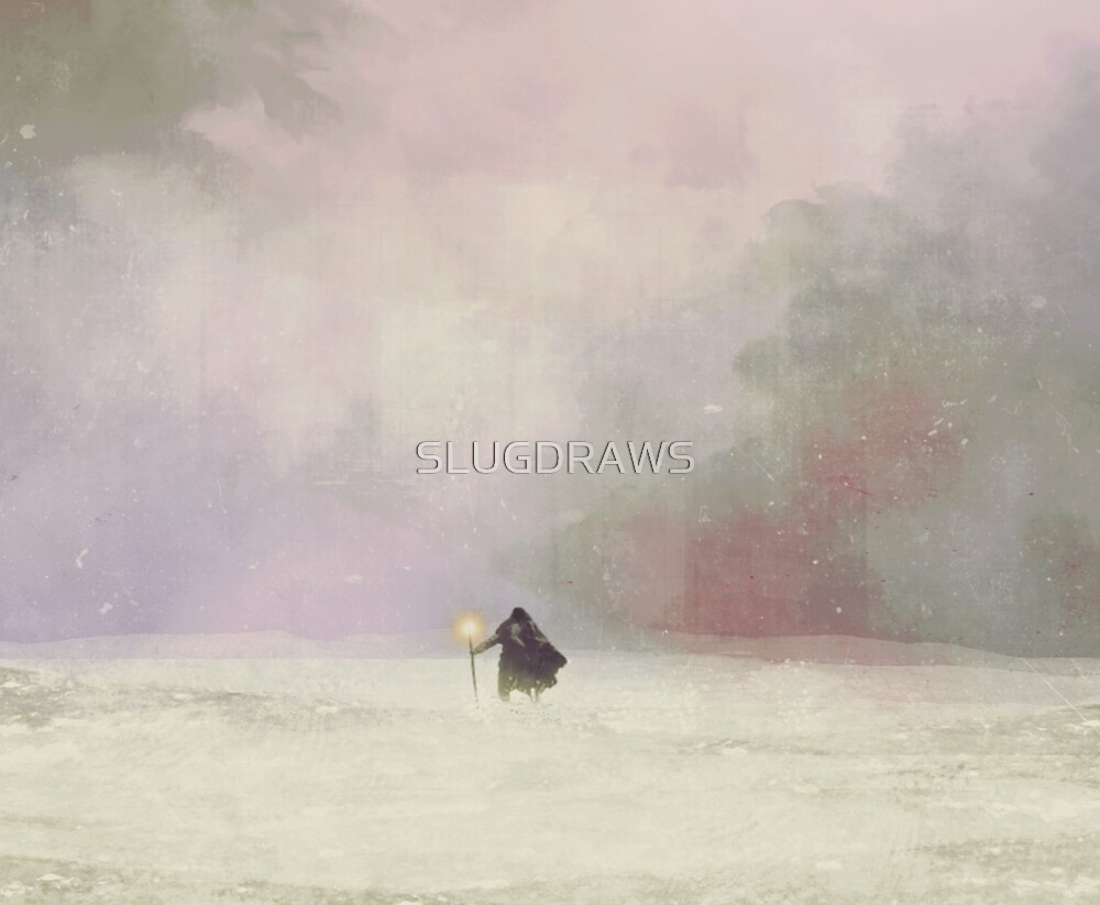 TRAVELLER by SLUGDRAWS
