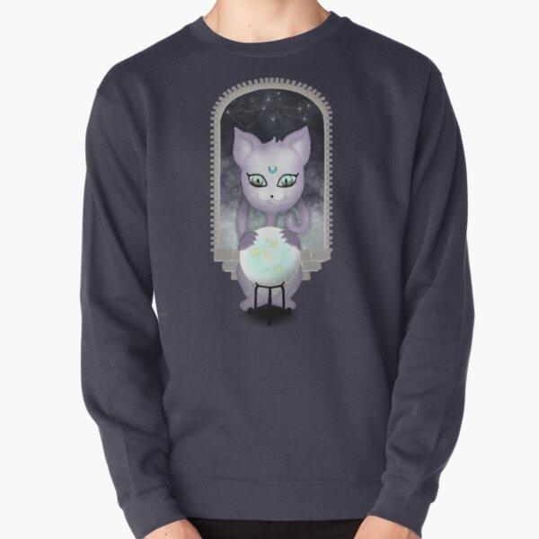 Mystic Miku   Crystal Ball & Zodiac   Navy Pullover Sweatshirt