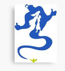 Genio Aladdin Canvas Print