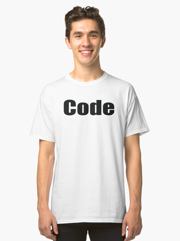 Code Startup Classic T-Shirt Front