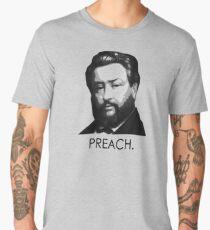 """Charles Spurgeon - """"Preach."""" Men's Premium T-Shirt"""