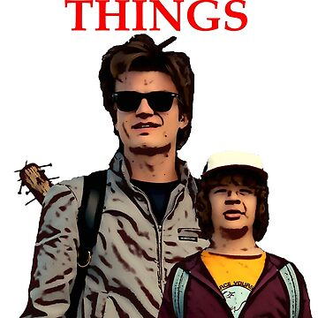 Stranger Things - Steve and Dustin by PopClothing