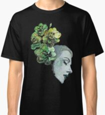 Obey Me (flower girl portrait, spray paint graffiti painting) Classic T-Shirt
