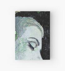 Obey Me (flower girl portrait, spray paint graffiti painting) Hardcover Journal