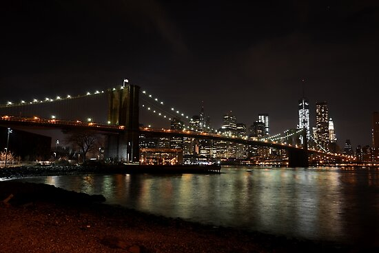 Brooklyn Bridge New York City by WayneOxfordPh