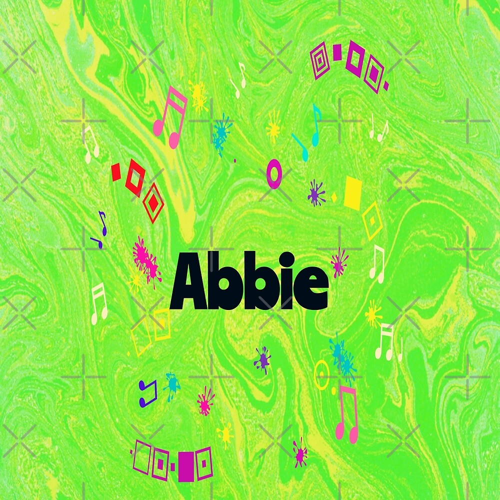 Abbie - original artwork to personalize your gift by myfavourite8