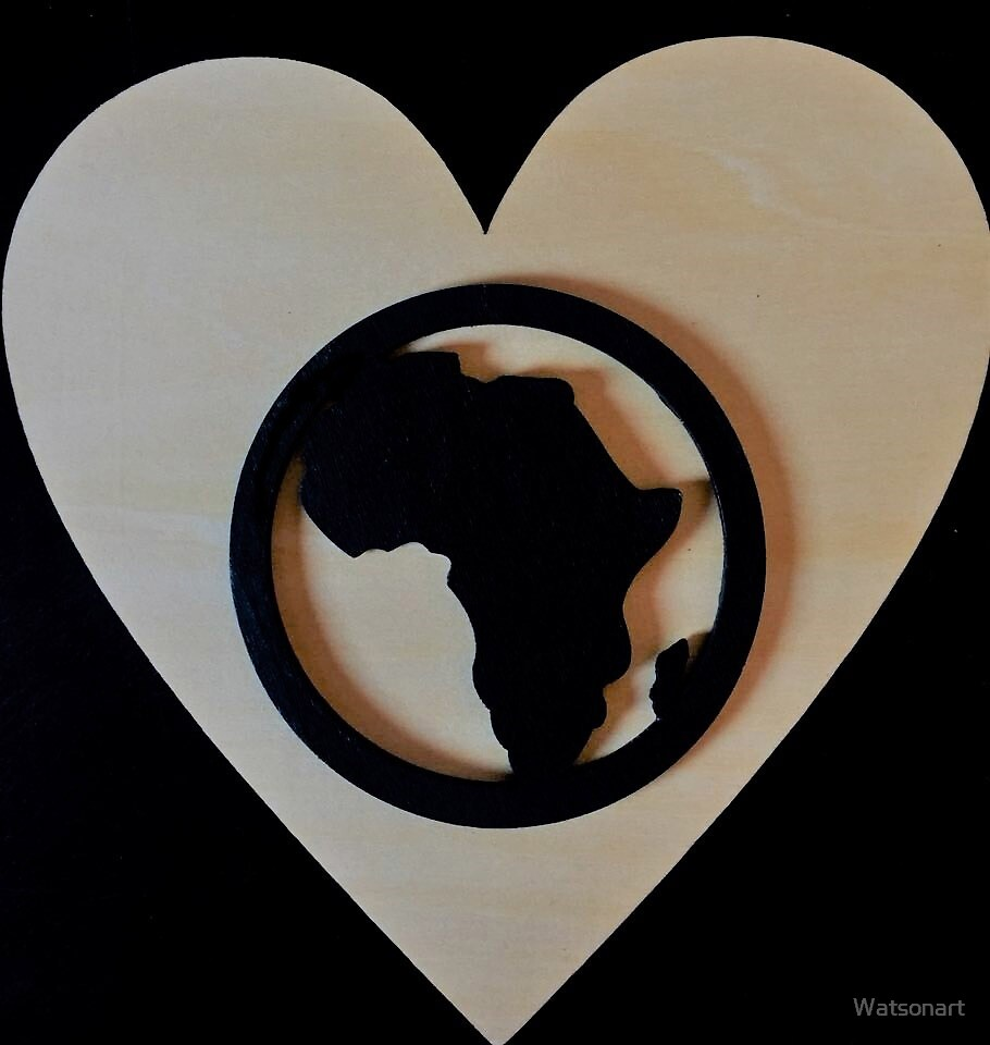 AFRICAN LOVE by Watsonart