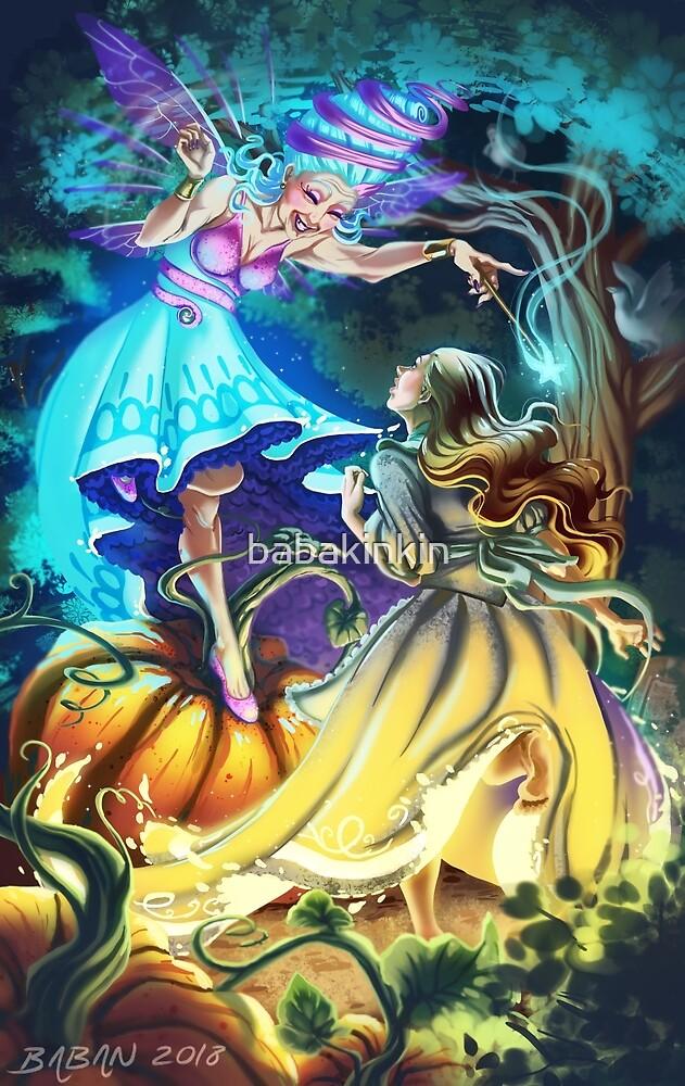 Cinderella by babakinkin