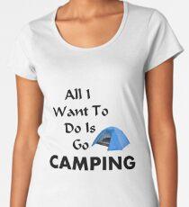 Go Camping Women's Premium T-Shirt