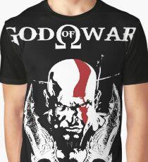 KRATOS   GOD OF WAR Graphic T-Shirt