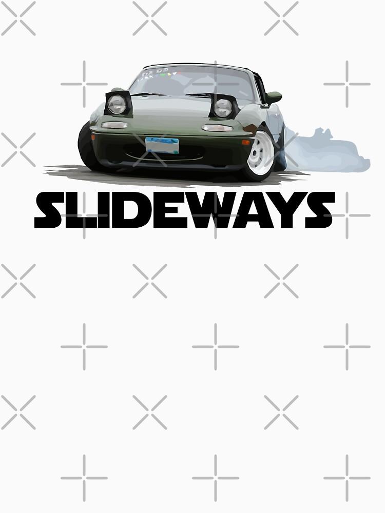 Mazda Miata / MX-5 - Drifting Slideways by mudfleap