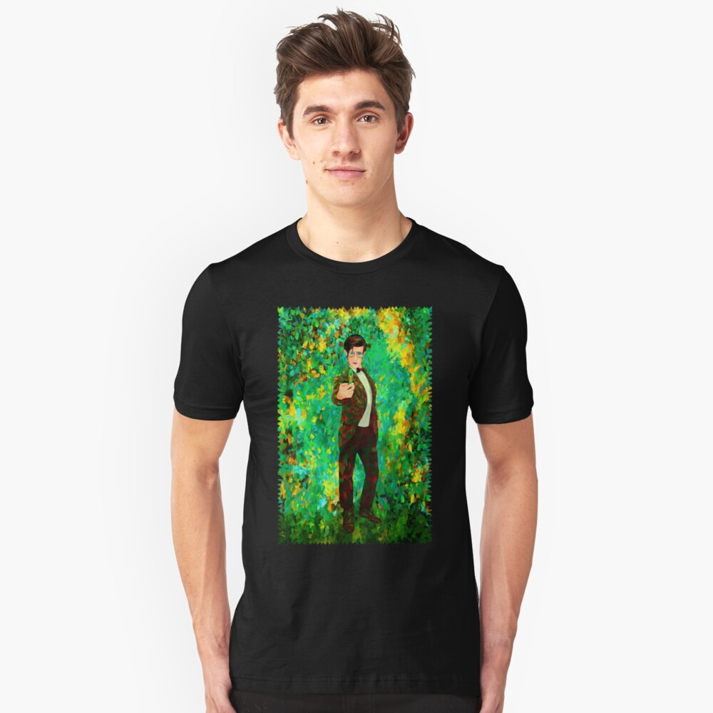 11th Doctor Abstract Unisex T-Shirt Front