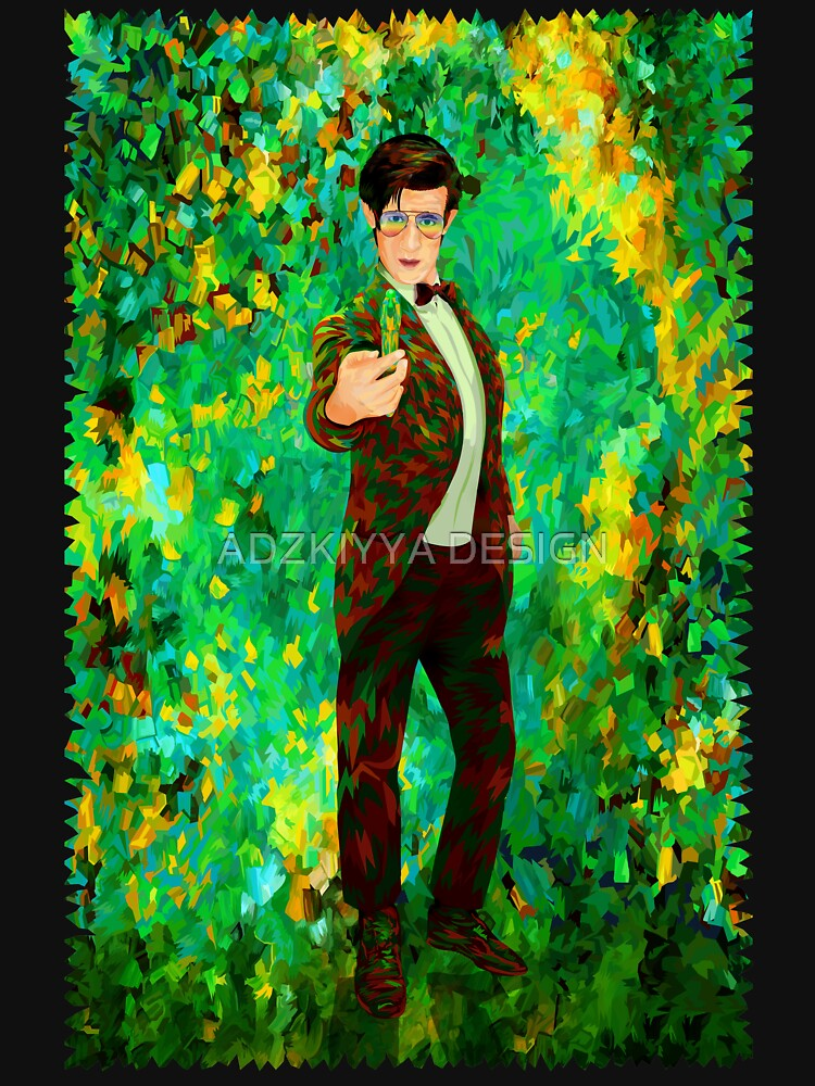 11th Doctor Abstract by GreenLight08