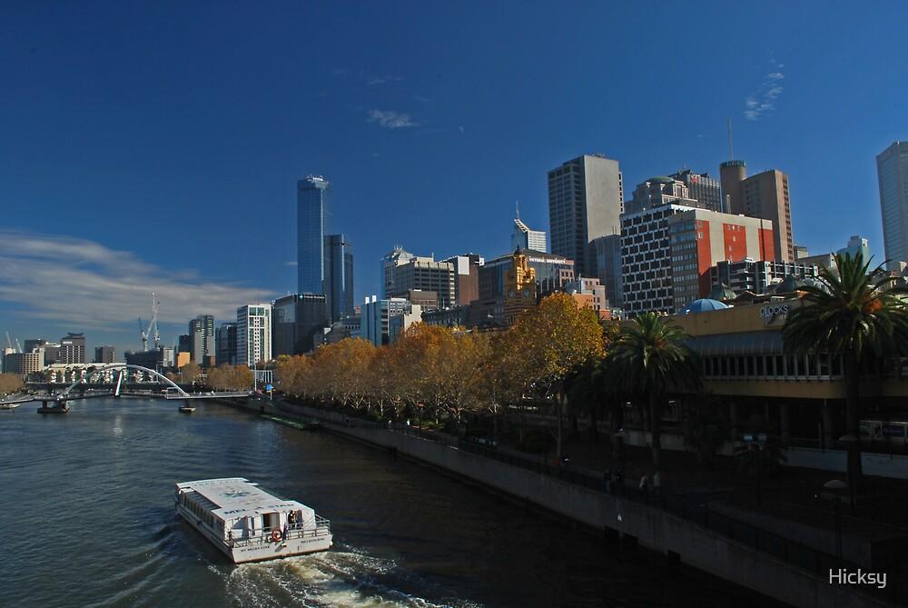 Yarra River, Melbourne by Hicksy