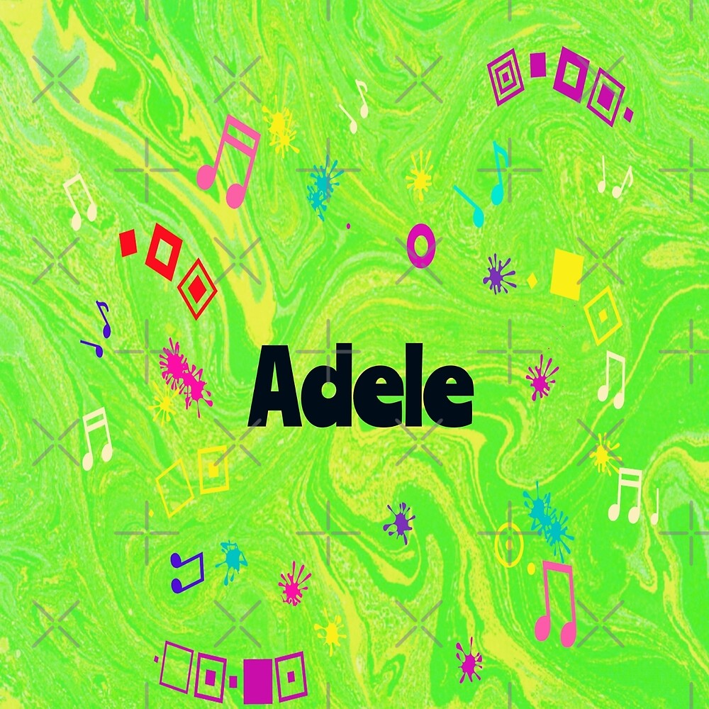 Adele  - original artwork to personalize your gift by myfavourite8