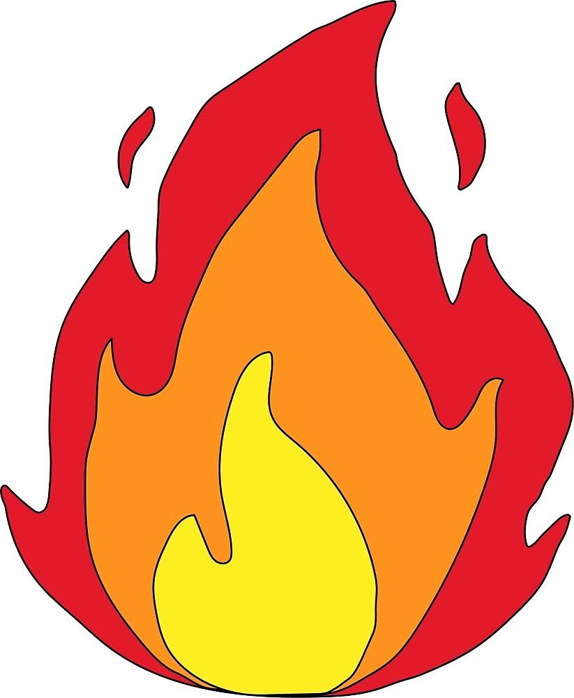 flame by maccaAU