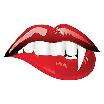 Sexy Red Vampire Lips by DesignFools