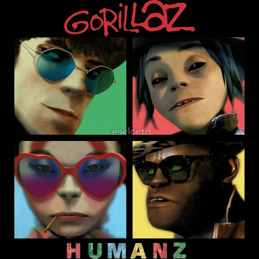 Humanz Tour by eselceto