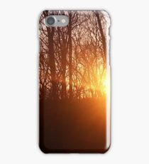 Capture The Sun And Let Its Rays Explode iPhone Case/Skin