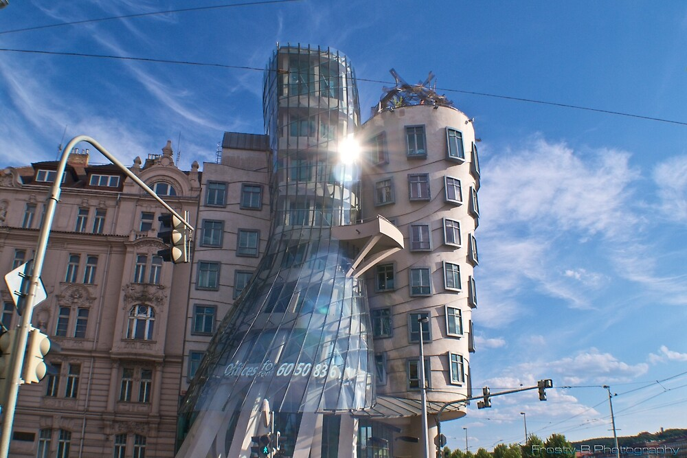 The Dancing House. by jfrosbutter