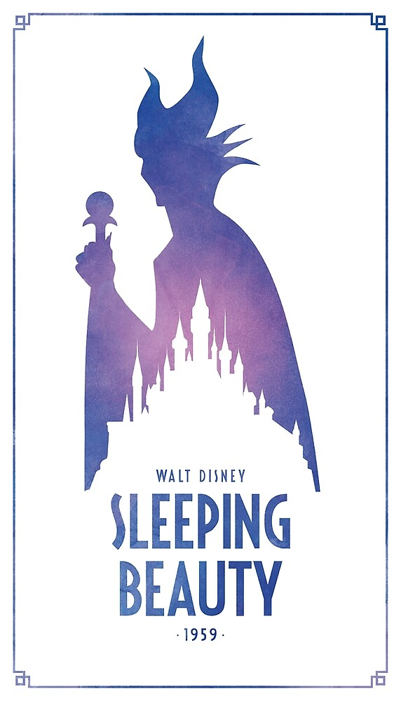 Sleeping Beauty by MrPastelDesign