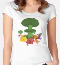 Veggiegeddon Women's Fitted Scoop T-Shirt