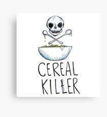 Funny Cereal Killer Design Food Lover Addict Gift Metal Print