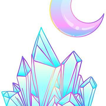 Moon and Crystal by varka