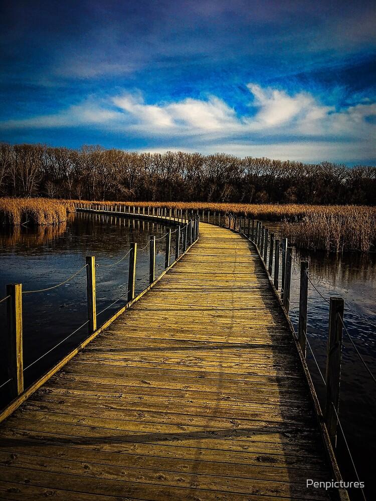 Across the Bridge by Penpictures