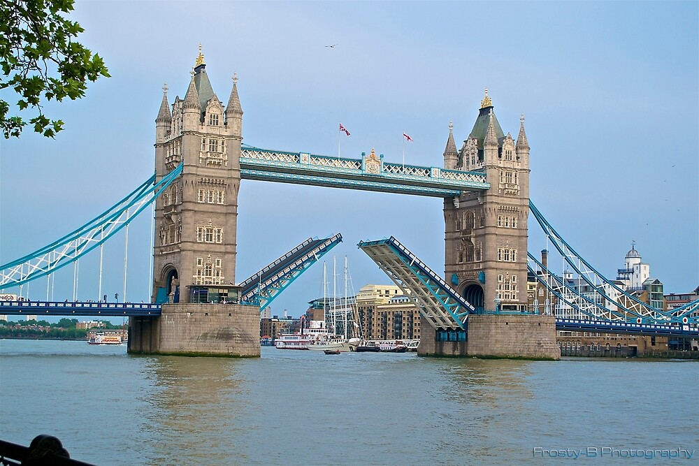 Tower Bridge. by jfrosbutter