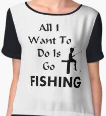 Fishing Chiffon Top