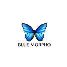 BLUE MORPHO by SIE in black by sourceindie