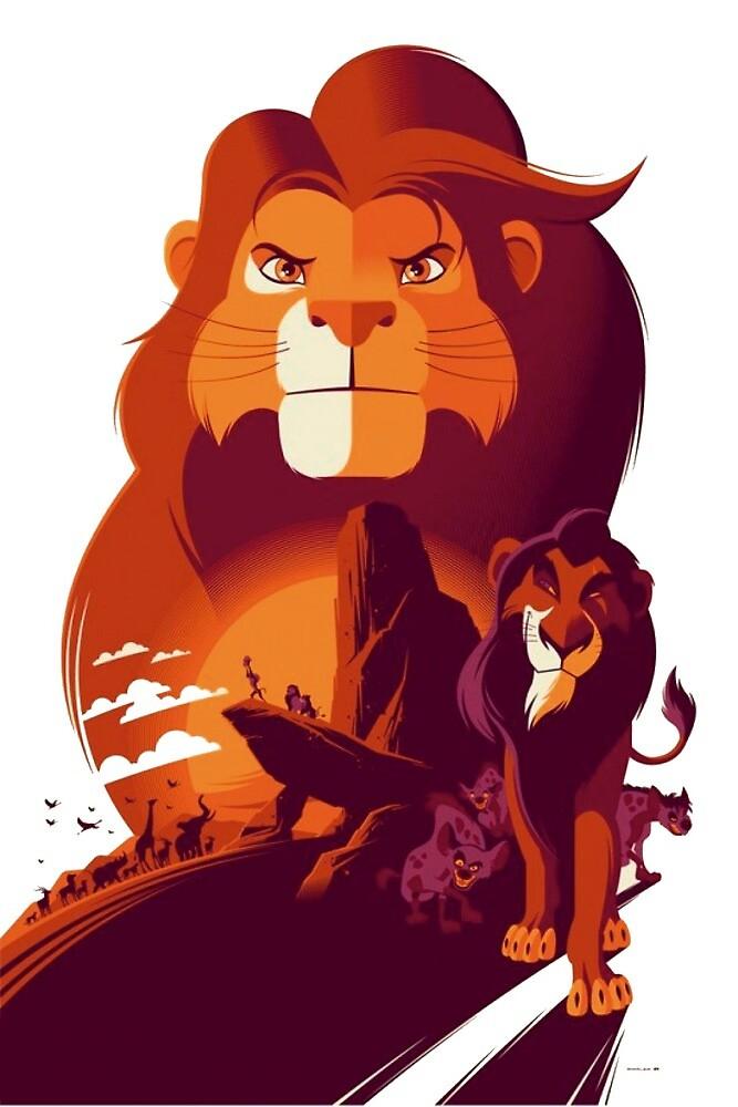 The Lion King by MrPastelDesign
