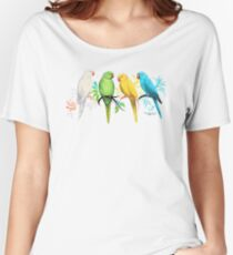 Indian Ringneck Parrots Women's Relaxed Fit T-Shirt