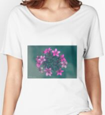Pink Flowers Explosion Women's Relaxed Fit T-Shirt