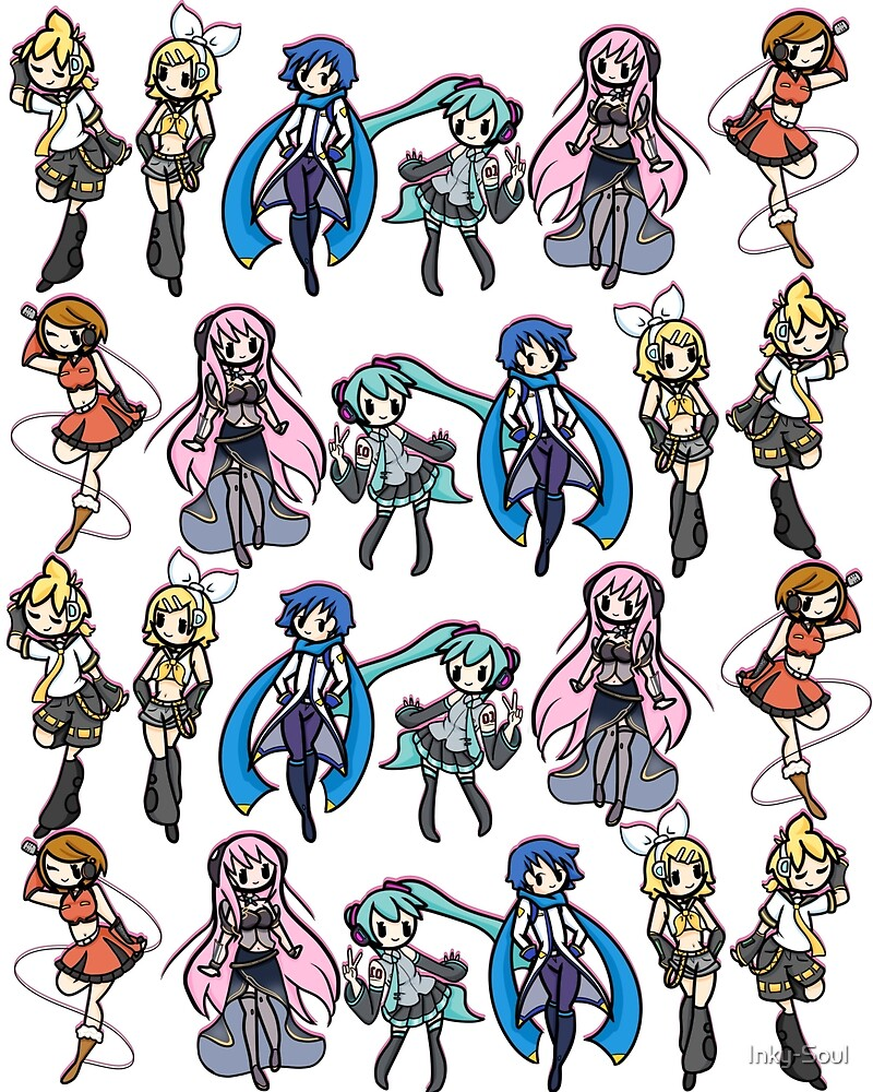 Vocaloids! by Inky-Soul