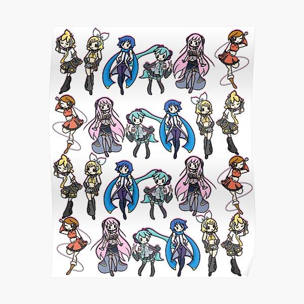 Vocaloids! Poster
