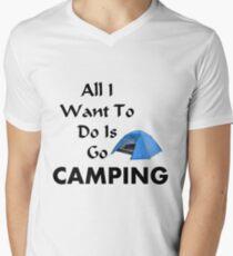 Go Camping Men's V-Neck T-Shirt