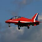 Red Arrow Landing by SWEEPER