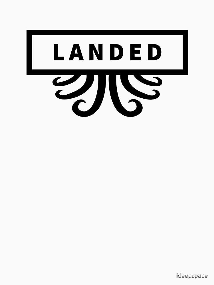 Landed - Alien Brand by ideepspace