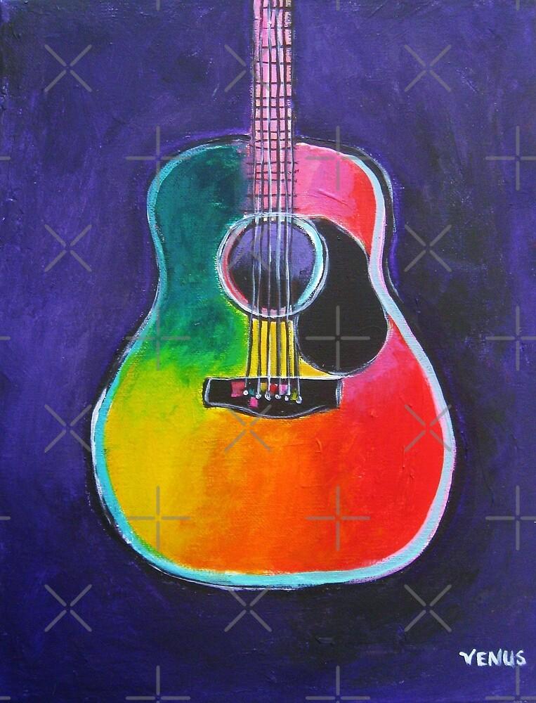 Acoustic Guitar by VenusArtist