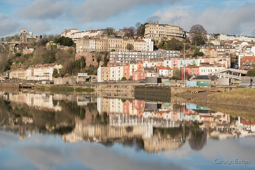Clifton and Hotwells, Bristol by Carolyn Eaton