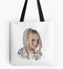 Billie Eilish Art Tote Bag