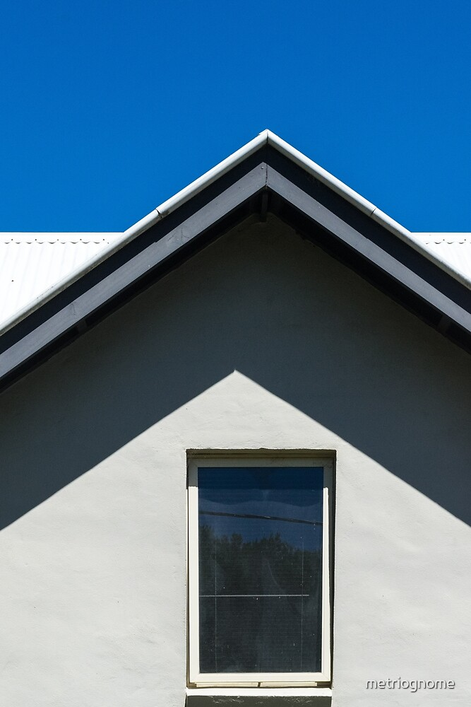 Gable Window by metriognome