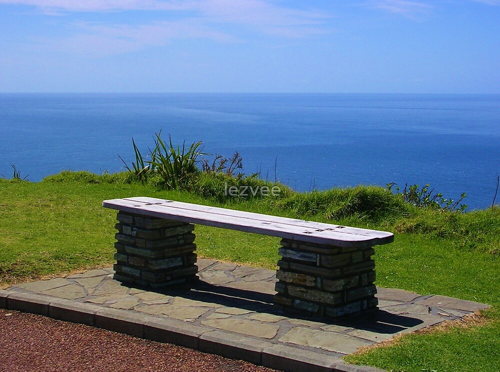 A Seat At Cape Reinga by lezvee