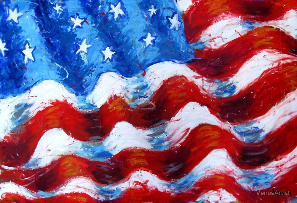 American Flag by VenusArtist