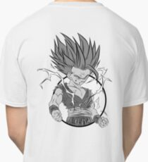 Gohan 2nd Form Back Logo Classic T-Shirt
